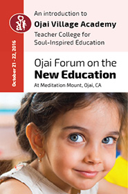 Ojai Forum on the New Education